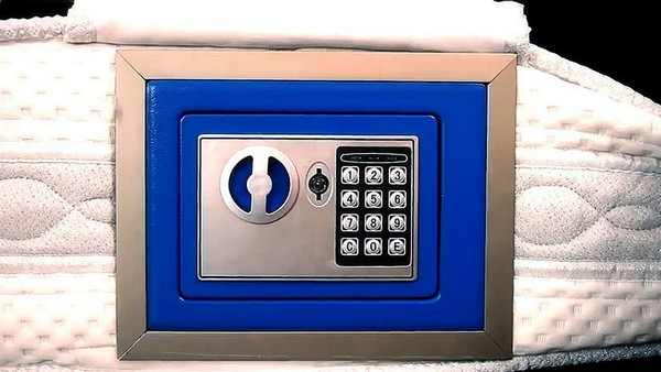 My Mattress Safe – матрац со встроенным сейфом