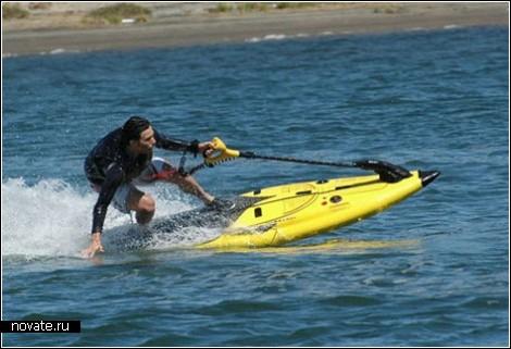 Чуден серфинг при тихой погоде