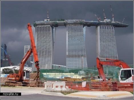 Бассейн с видом на Сингапур | Необычные отели