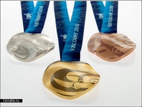 Олимпийские медали из вторичного сырья
