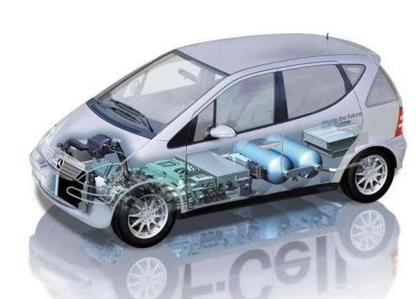 Невидимый автомобиль Mercedes F-Cell