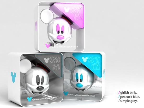 Светодиодная лампочка Mickey Mouse Bulb