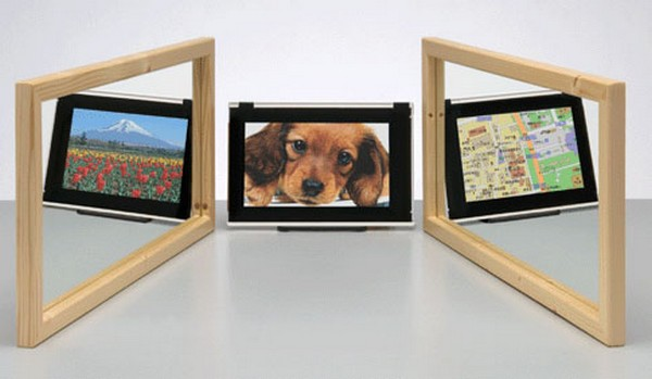 Двойное видение LCD Dual View
