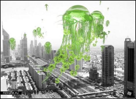 Летающие сады: как бороться с загрязнением воздуха