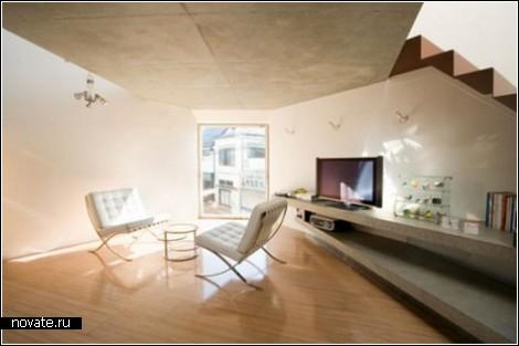Японский дом для минималистов