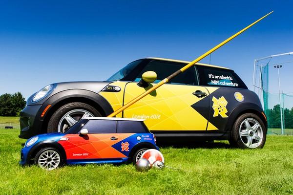 Мини MINI для Олимпиады в Лондоне — настоящий спортивный автомобиль