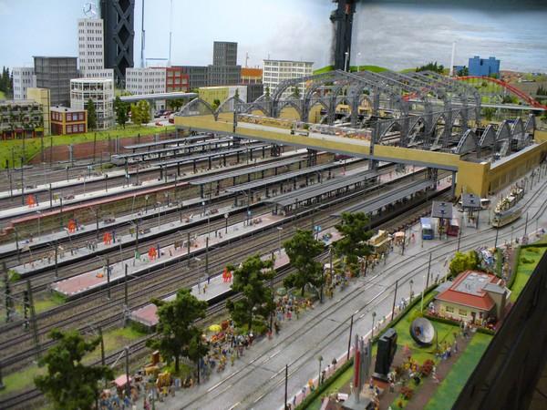 Miniatur Wunderland Hamburg – самая большая игрушечная железная дорога в мире