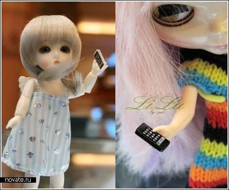 Гаджеты от Apple для кукол