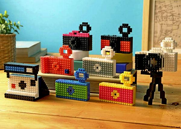 Nanoblock Toy Camera – камера в стиле LEGO