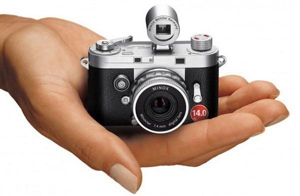 Фотомалышка: миниатюрная камера от Minox