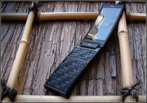 Деревянный телефон – красиво и приятно