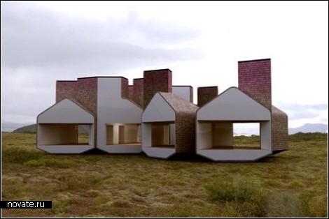 Модульный дом на вырост