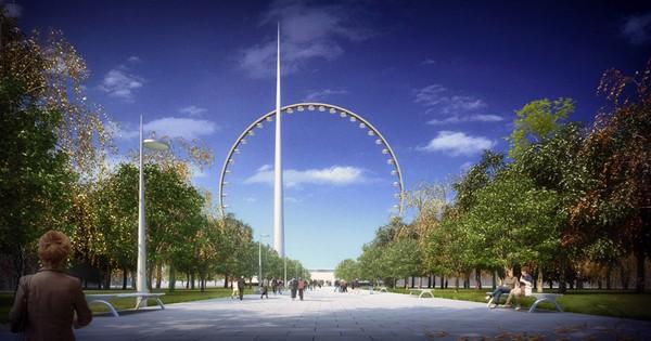 Moscow View – рекордное чертово колесо