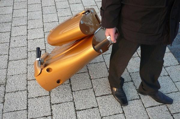 Легкий электрический скутер MOVEO.
