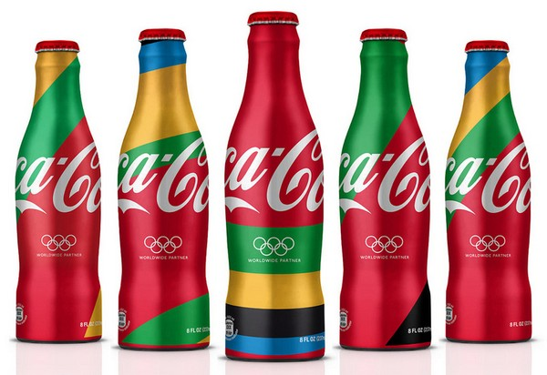 Олимпийский дизайн для Coca Cola