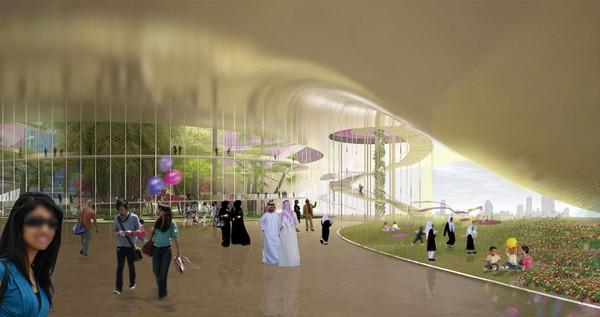 Дюны – спортивный центр в песках Дубаи