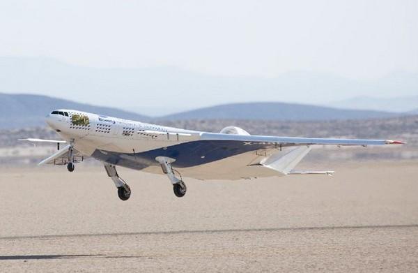48c – сверхэффективный самолет от nasa