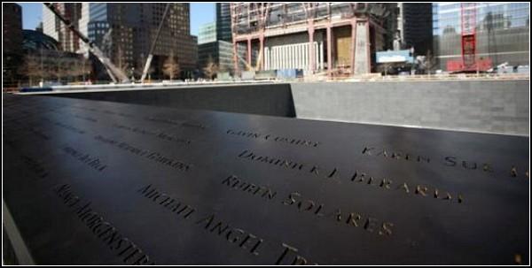 Мемориал 9/11 в Нью-Йорке