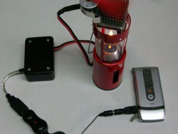 andle Powered USB Charger