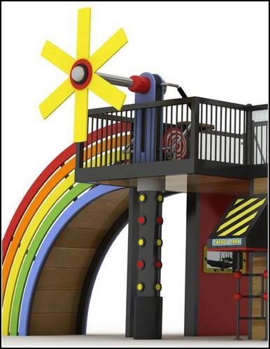 Детский городок Natural Energy Park: дети как источник альтернативной энергии