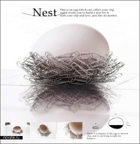 Гнездо для скрепок