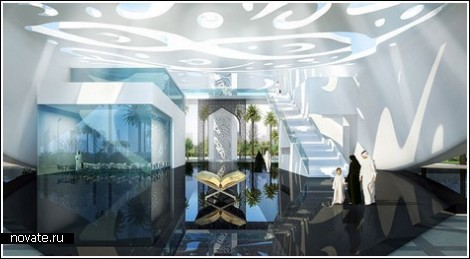 Многофункциональный полумесяц в Дубаи