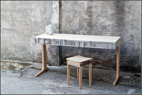 Newspaper Wood – древесина, делающаяся из бумаги