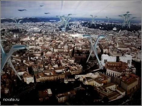 Дома-тычинки в альтернативном Риме