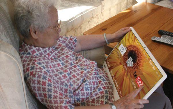 ACER Providence – планшет для пожилых людей