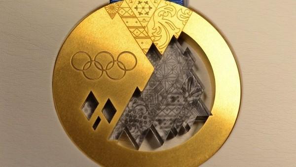 Олимпийские медали для Сочи с Челябинским метеоритом