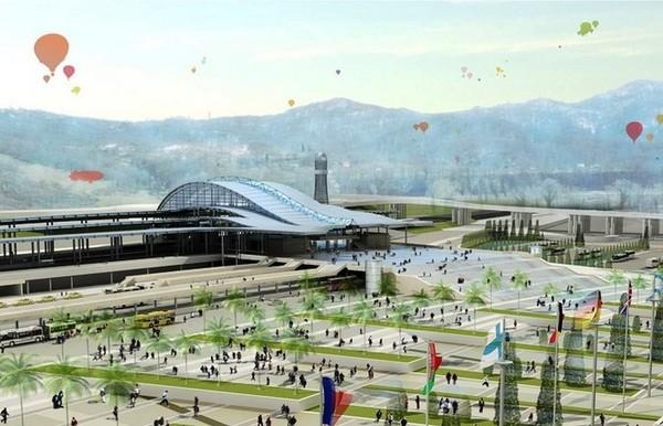 Предолимпийский Сочи. Обзор объектов. Olympic-sochi-10