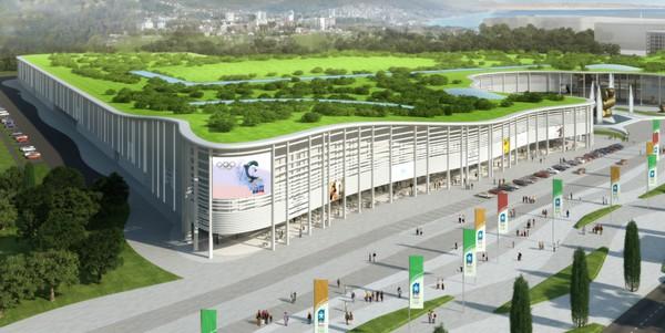 Предолимпийский Сочи. Обзор объектов. Olympic-sochi-11