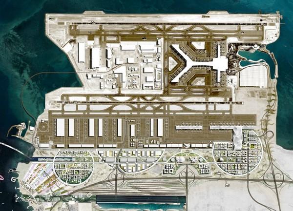 Генеральный план развития аэропорта в Катаре от OMA