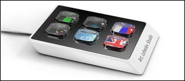 Шестикнопочная клавиатура Optimus Mini Six от Артемия Лебедева