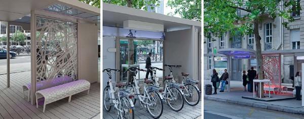 Osmose – современная остановка в Париже