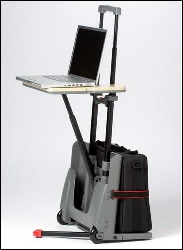 Рабочий чемодан на колесиках