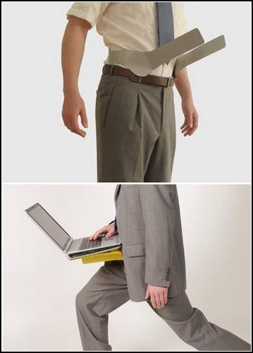 Пояс на ноутбука