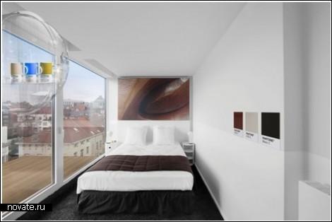 Отельная цветотерапия в Брюсселе