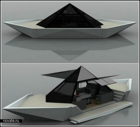 Бумажный кораблик теперь наяву
