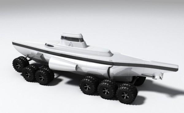 Подводная лодка на колесах Pathfinder