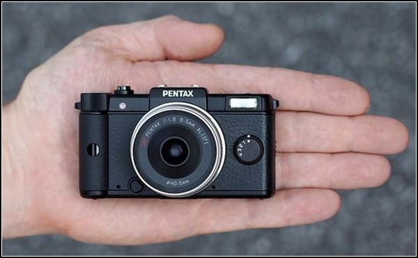 Камера-брелок Pentax Q на 12 мегапикселей