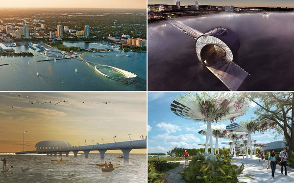 Финалисты архитектурного конкурса St. Petersburg Pier Design Competition