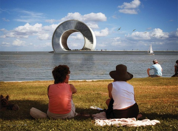 BIG architects, St. Petersburg Pier Design Competition
