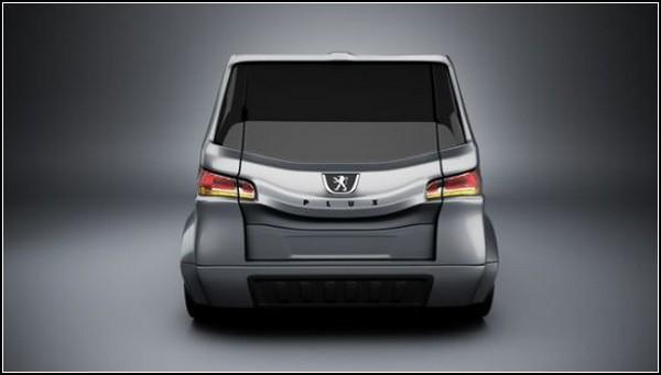 Peugeot PLUX – раскладной городской автомобиль