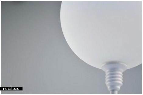 Лампа, которую можно надуть