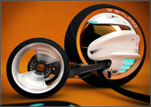 Трехколесный мотоцикл для езды по пересеченной местности