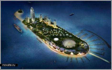 Остров Феникс – элитное украшение Китая