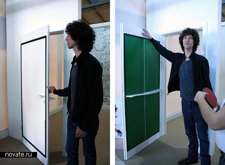 Дверь как стол для пинг-понга