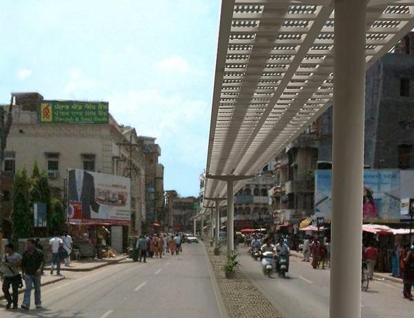 Беспилотные такси в священном индийском городе