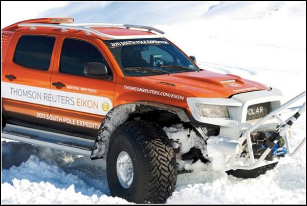 Polar – автомобиль для штурма Антарктиды